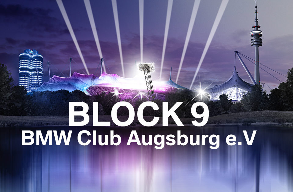 BMW Club Augsburg e.V. beim BMW Festival in Block 9