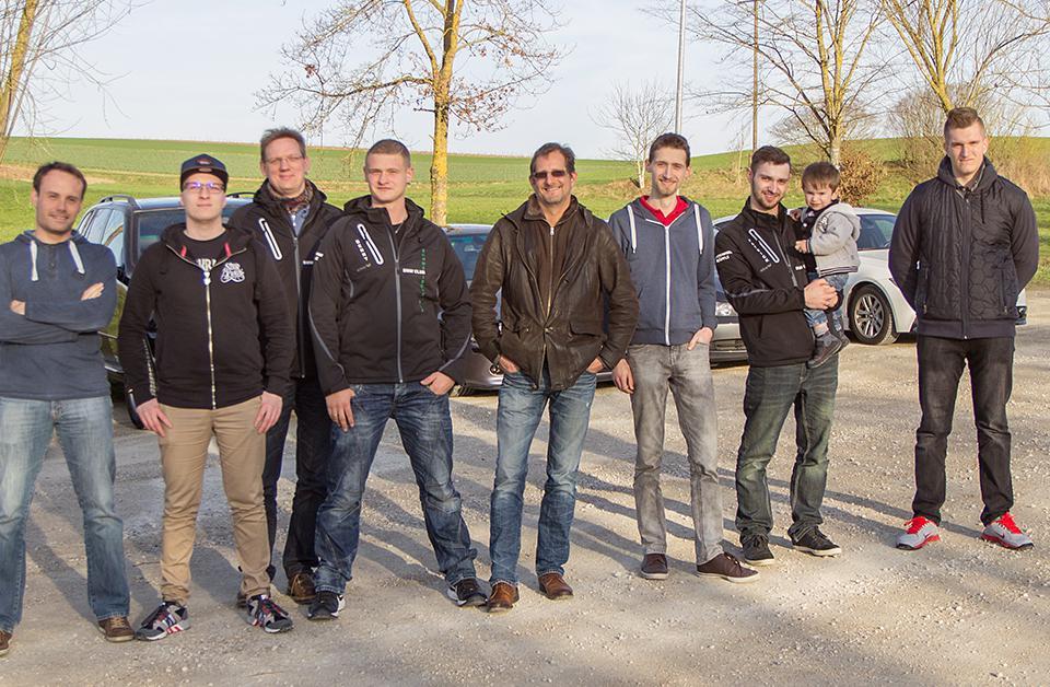 Gruppenbild BMW Clubs Verteter